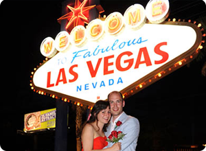 Las Vegas Sign Weddings